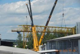 Demontage eines Brückenkranes