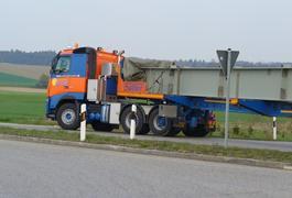 Neue 3-Achs-Zugmaschine verstärkt den Fuhrpark