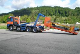 Neuer Volvo FMX 500 - Abroller